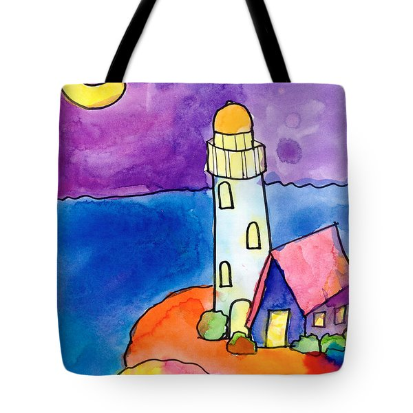 Nighthouse Tote Bag