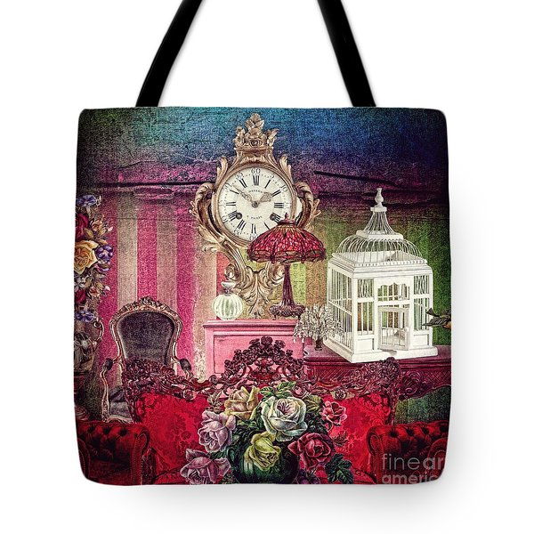 Tote Bag featuring the photograph Nightingale by Mo T