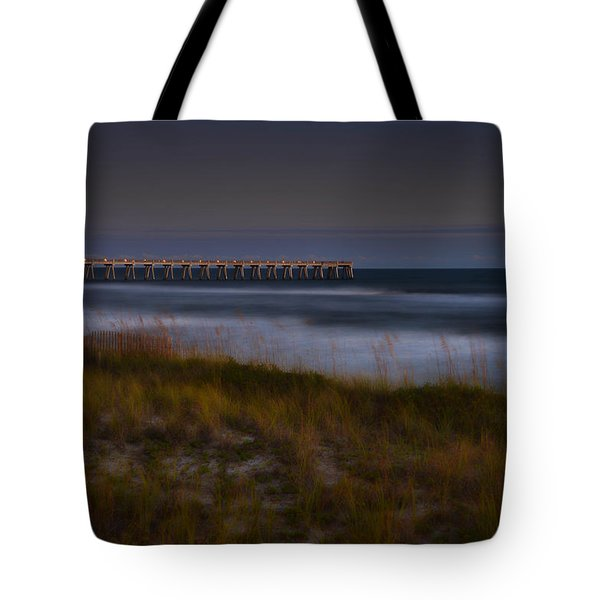 Nightlife By The Sea Tote Bag