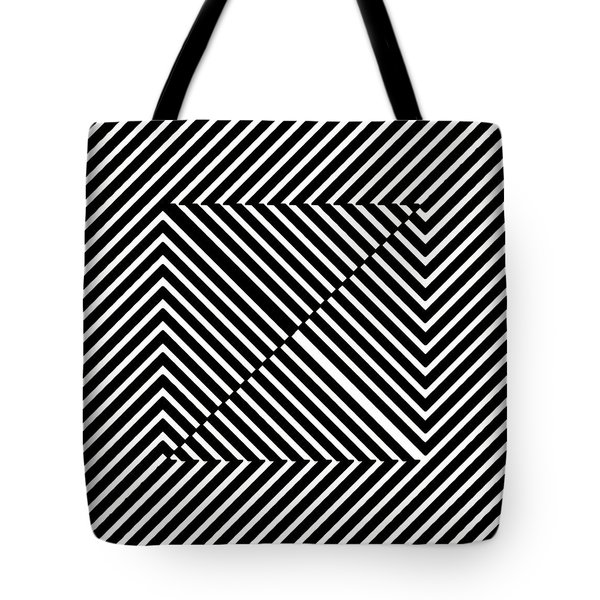 Nightlife Illusions Tote Bag