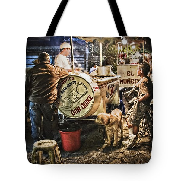Nightlife In Guatemala Tote Bag