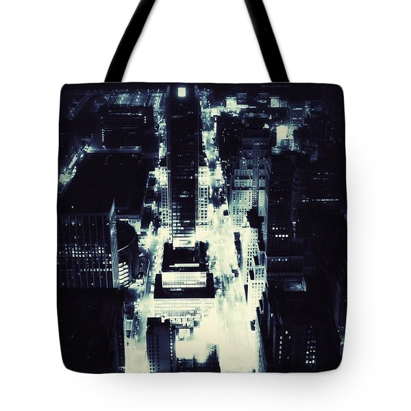 Blue Pill Tote Bag