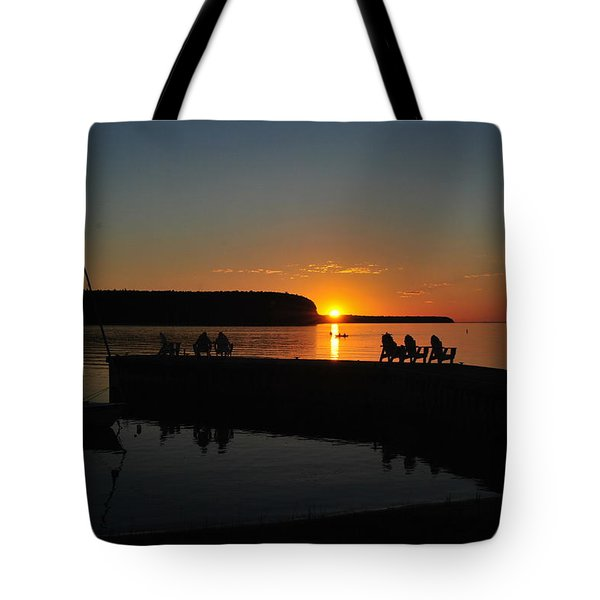 Nightly Entertainment Tote Bag