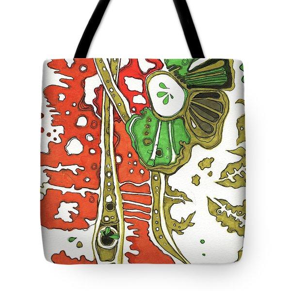 Nightmare In The Garden Tote Bag