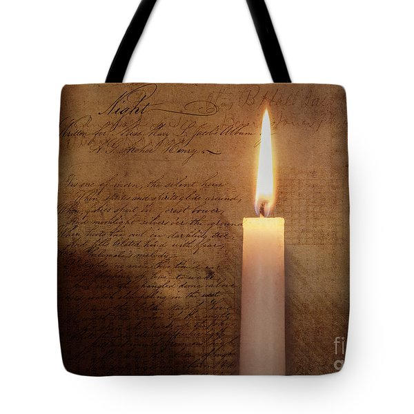 Night's Candle Tote Bag
