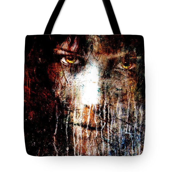 Night Eyes Tote Bag