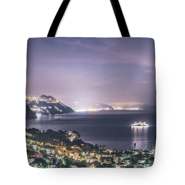 Nights In The Harbor Tote Bag