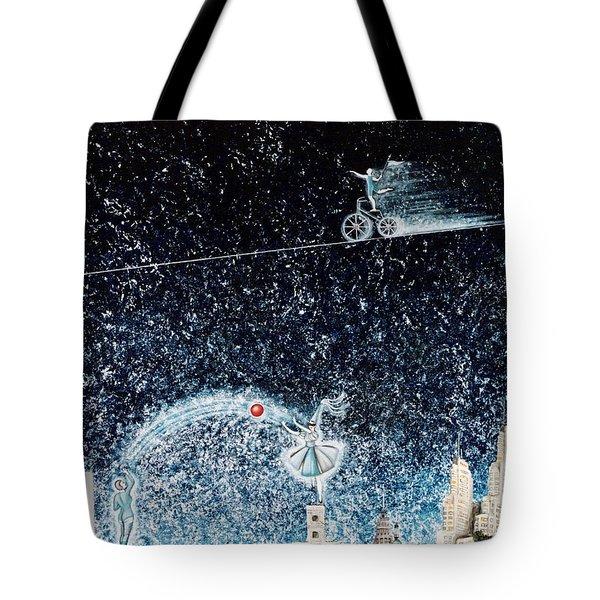 Nights Of Fun Tote Bag by Graciela Bello
