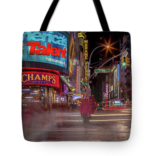 Nights On Broadway Tote Bag