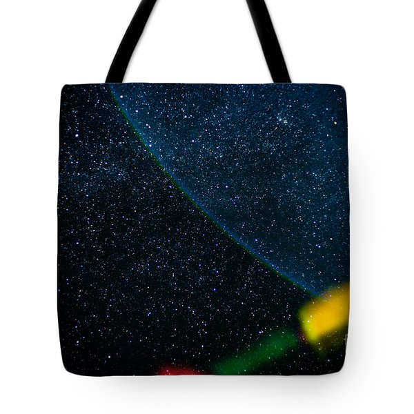 Nightscape Stars In Himalayan Mountain Tote Bag