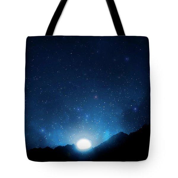 Nightsky Africa 5 Tote Bag
