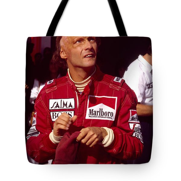 Niki Lauda. Marlboro Mclaren International Tote Bag