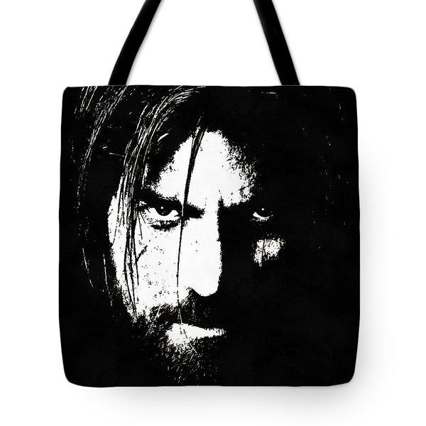 Nikolaj Coster-waldau  Tote Bag by Sergey Lukashin