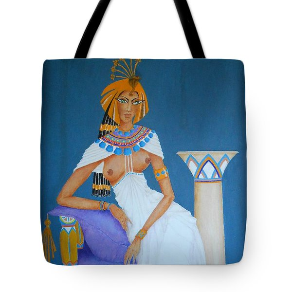 Nile Nymph -- Cleopatra, #1 In Famous Flirts Series Tote Bag