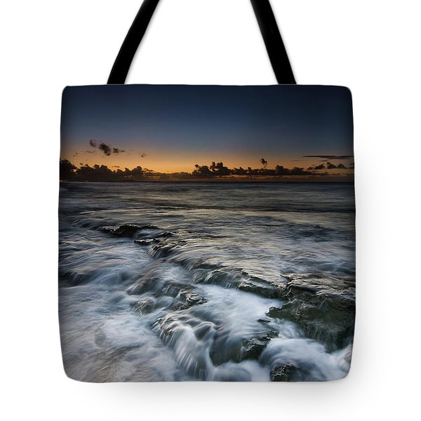 Nimitz Beach Sunrise Tote Bag