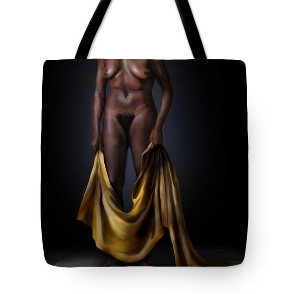 Nina Simone-potters Wheel Tote Bag by Reggie Duffie