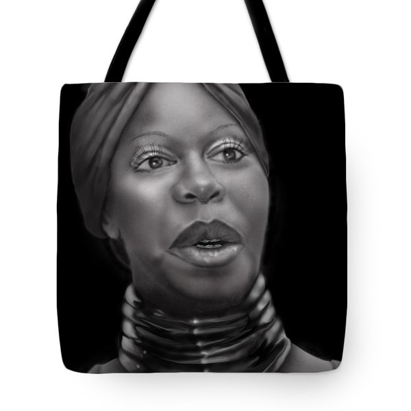 Nina Simone-revolution Tote Bag