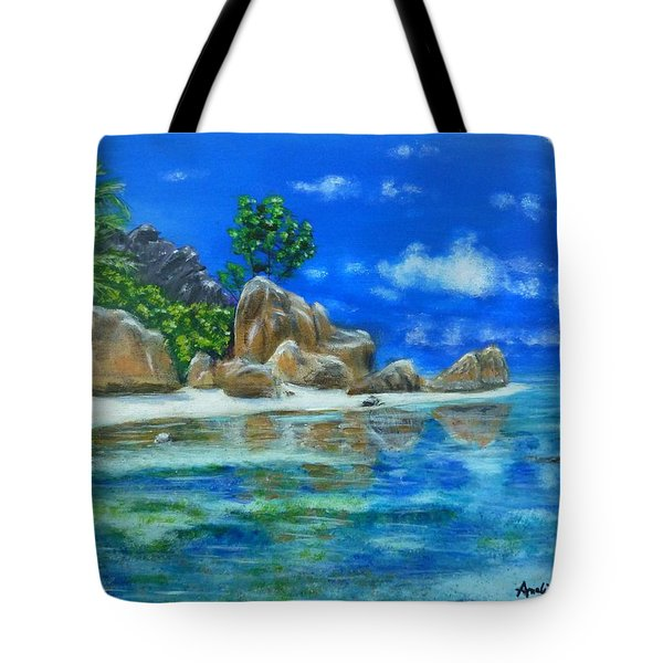 Nina's Beach Tote Bag