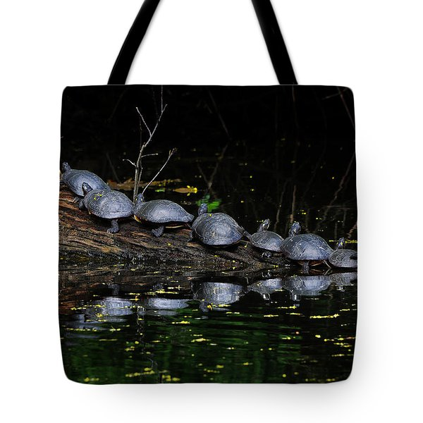 Nine In A Row Tote Bag