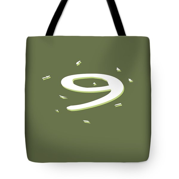Nine Tote Bag