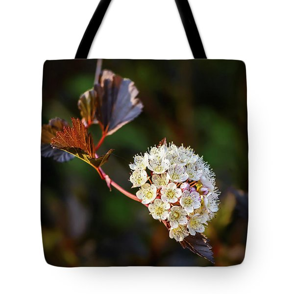 Ninebark Summer Wine Tote Bag