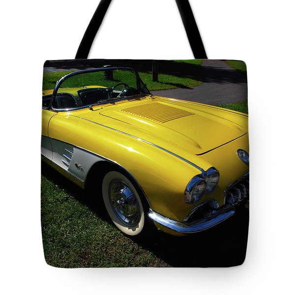 Nineteen Fifty Eight C1 Plate 1 Tote Bag