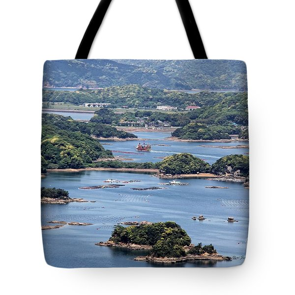 Tote Bag featuring the photograph Ninety-nine Islands by Yumi Johnson