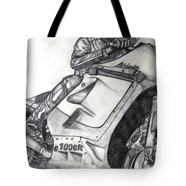 Ninja  Tote Bag by Angela Murray
