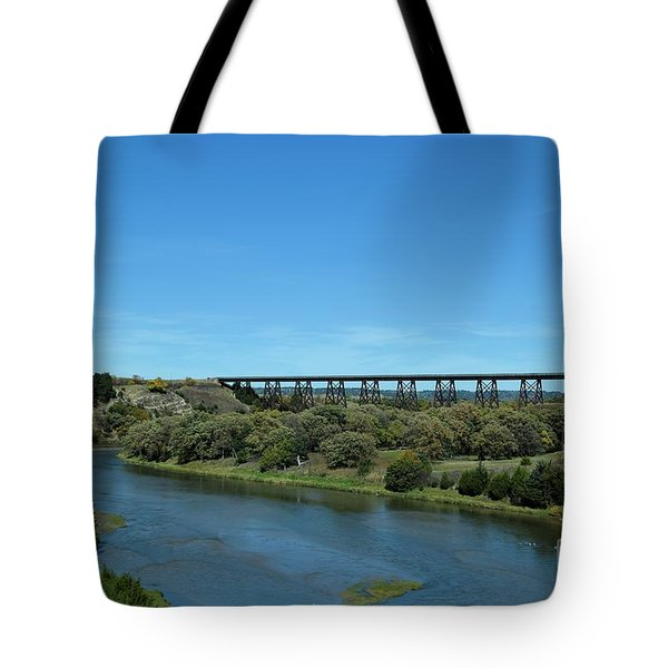 Niobrara River Tote Bag