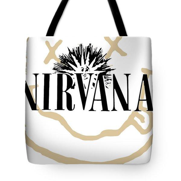 Nirvana No.06 Tote Bag by Caio Caldas