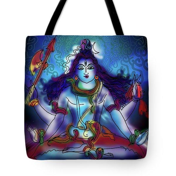 Nirvikalp Samadhi Kapali Shiva Tote Bag