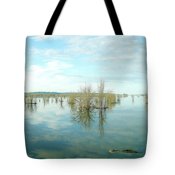 Nisqually High Tide Tote Bag