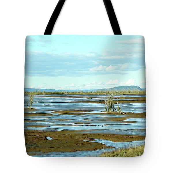 Nisqually Looking North Tote Bag