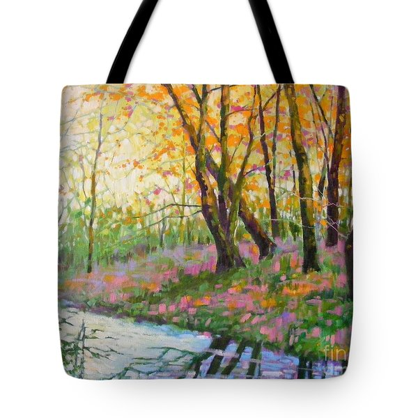 Nisqually Morning Tote Bag