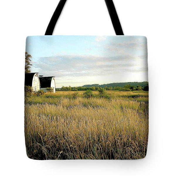 Nisqually Two Barns Tote Bag
