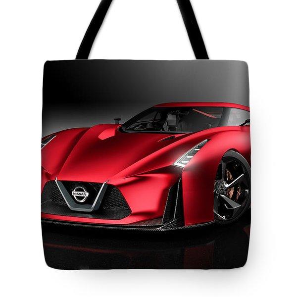 Nissan Concept 2020 Vision Gran Turismo Tote Bag