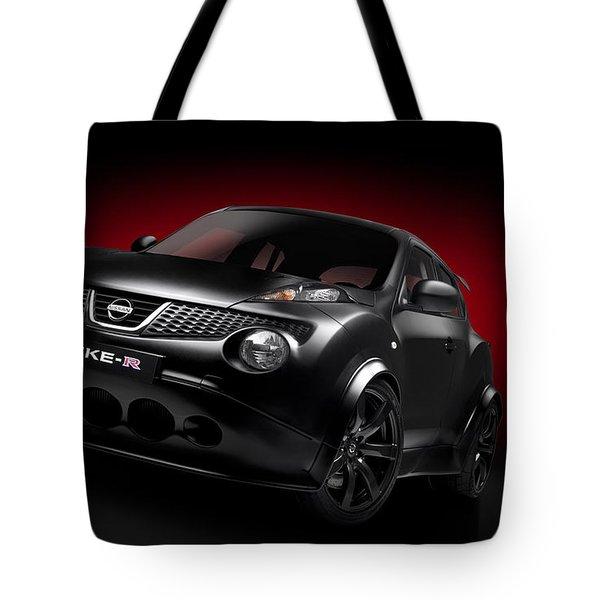 Nissan Juke R 2012 Tote Bag