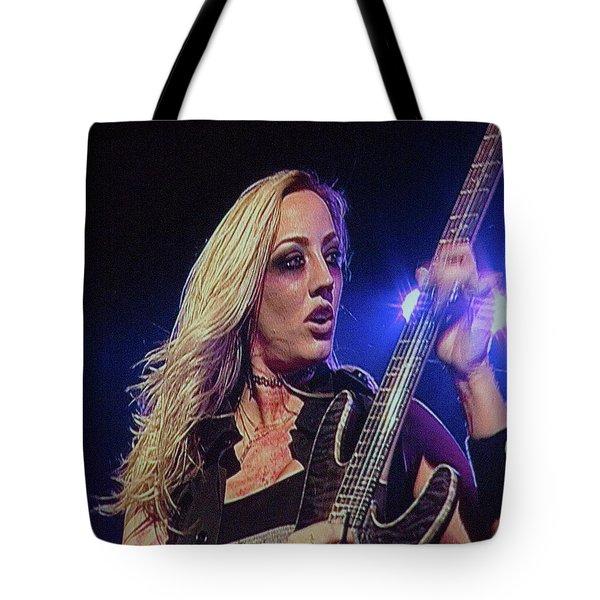 Nita Strauss Tote Bag