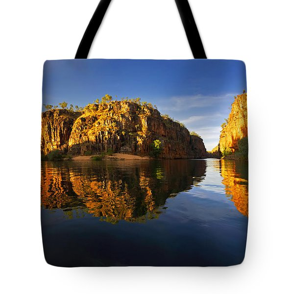 Tote Bag featuring the photograph Nitimiluk by Bill Robinson
