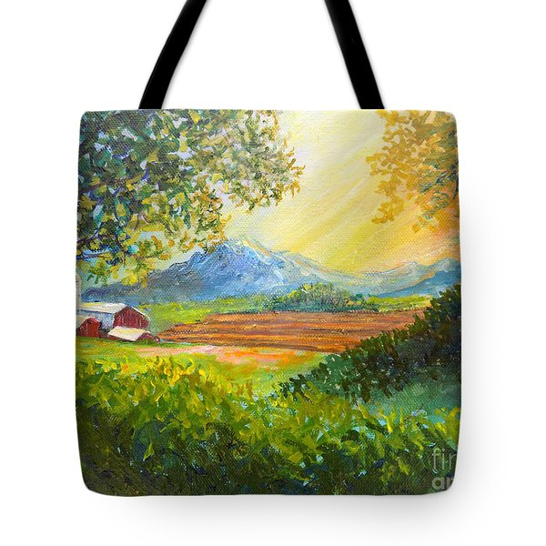 Nixon's Majestic Farm View Tote Bag by Lee Nixon