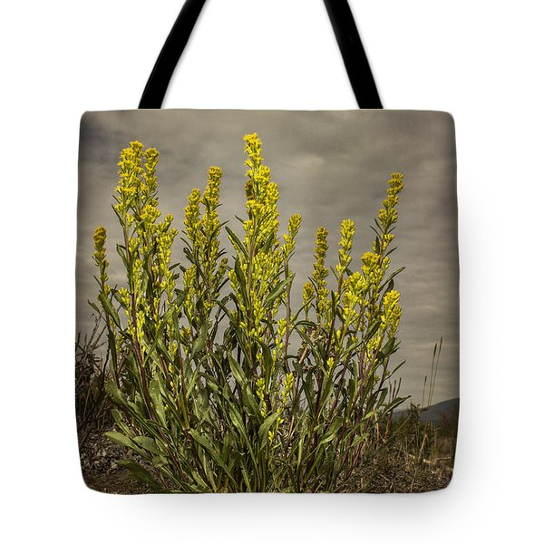 Nizina River Goldenrod Tote Bag