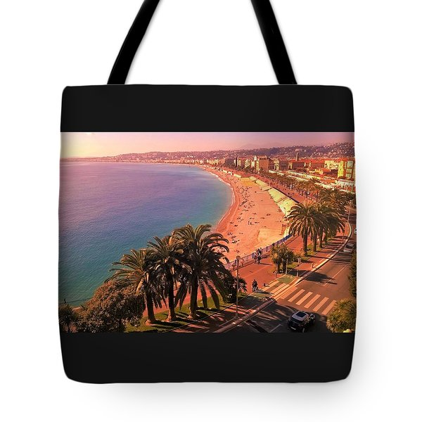 Nizza By The Sea Tote Bag