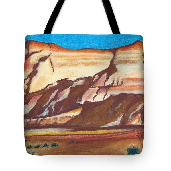 Nm Az Border Tote Bag