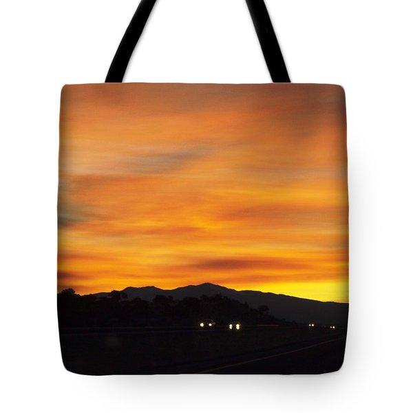 Nm Sunrise Tote Bag by Adam Cornelison