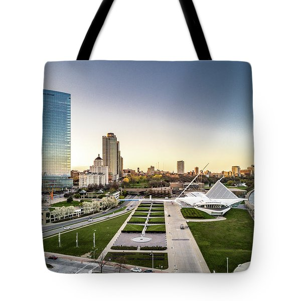 Tote Bag featuring the photograph Nml And Mam by Randy Scherkenbach