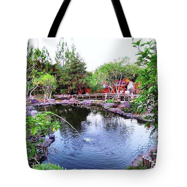 Lembang Village Tote Bag