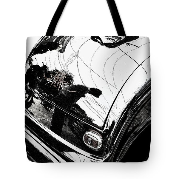 No. 1 Tote Bag by Luke Moore
