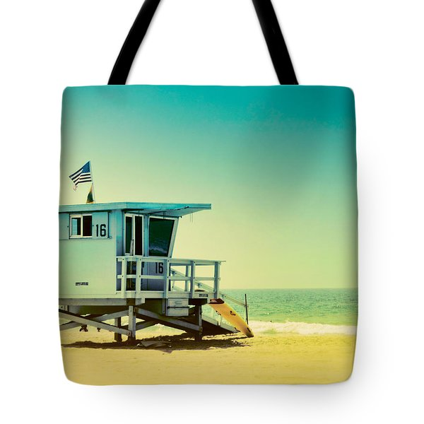 No 16 - Wish You Were Here Tote Bag
