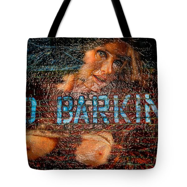 Tote Bag featuring the photograph No Barking by Harry Spitz