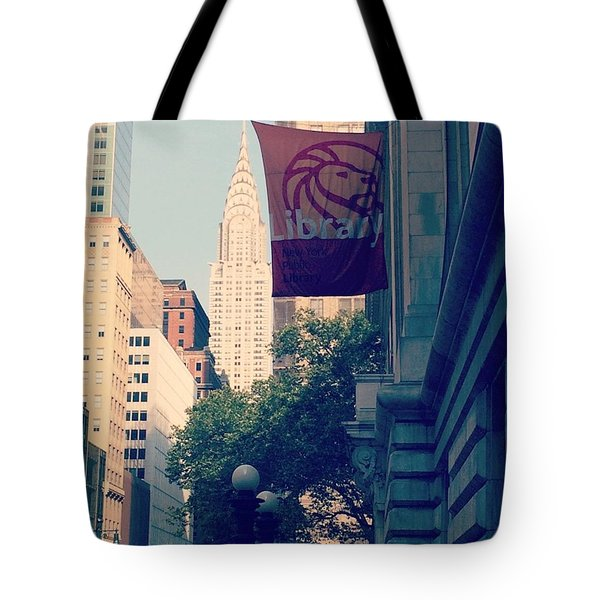 The Mark Of A Complete City Tote Bag